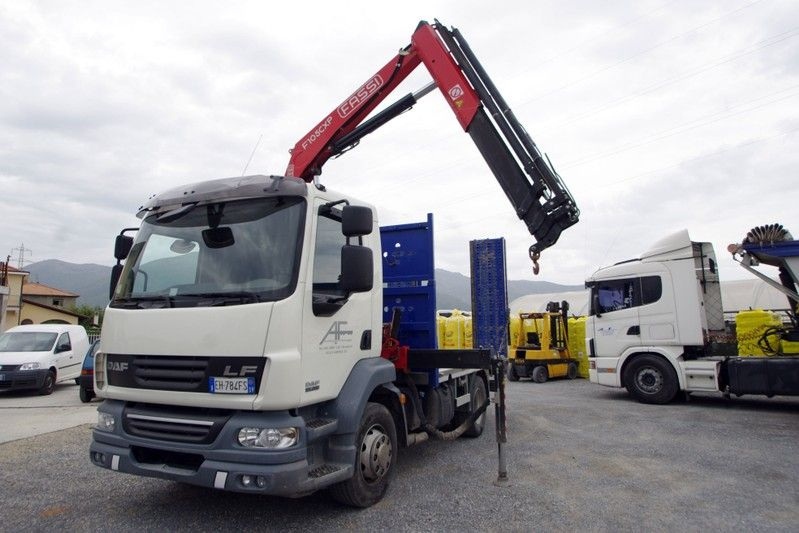 CAMION A 2 ASSI CON GRU