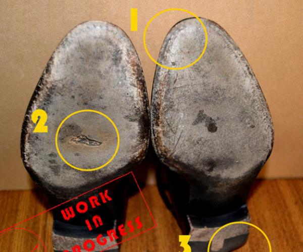 Fase 1: l'analisi della scarpa