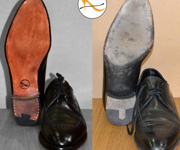 Fase 9: il finissaggio della scarpa