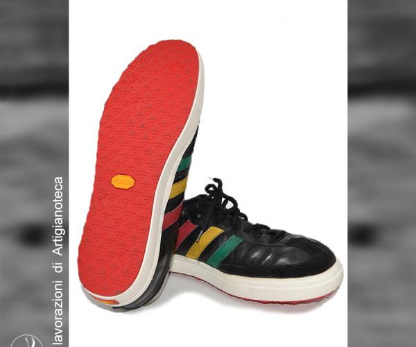Risuolatura Adidas Vibram Step