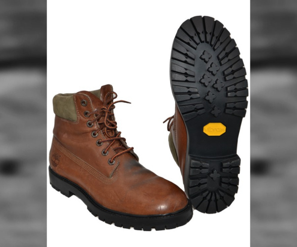 Risuolatura Timberland con Vibram Yellow Boot