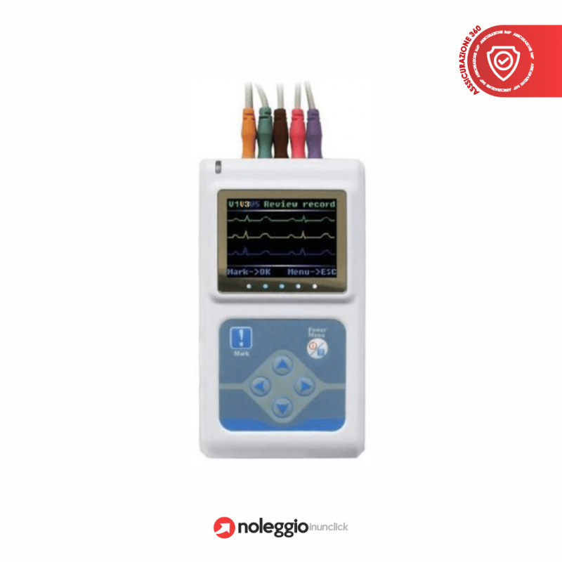 HOLTER ECG CON SOFTWARE