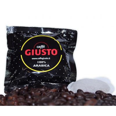 150 Cialde Caffè Giusto Giallo 100% Arabica
