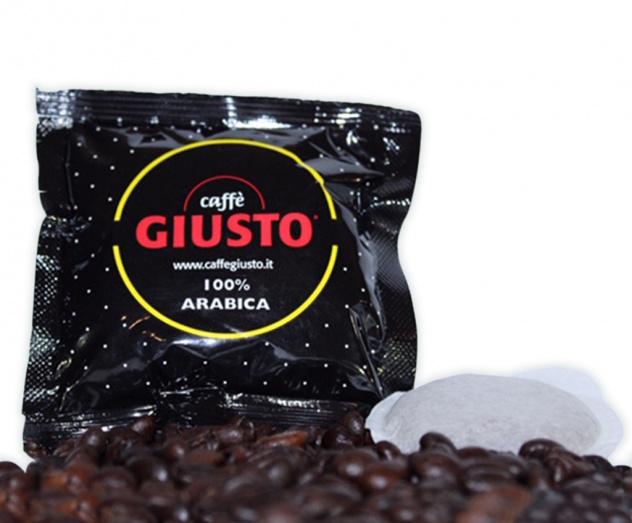 150 Cialde Caffè Giusto Giallo 100% Arabica_1