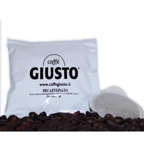 50 Cialde Caffè Giusto Decaffeinato