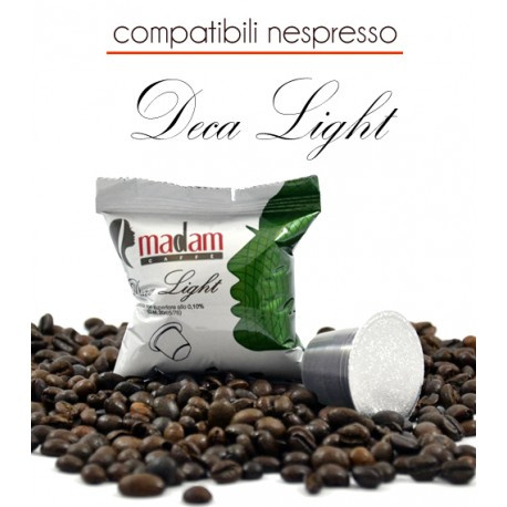 100 Capsule Deca Light Comp.Nespresso