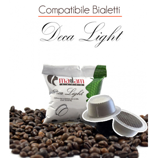 100 Capsule Deca Light Comp.Bialetti