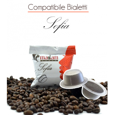 100 Capsule Sofia Comp.Bialetti