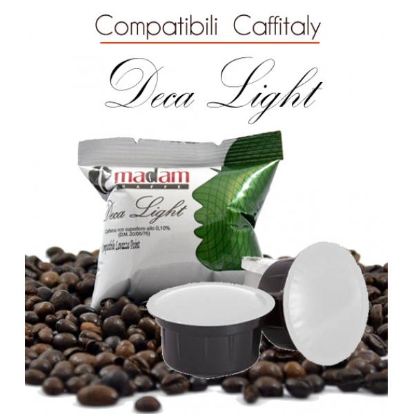 100 Capsule Deca Light comp . CAFFITALY