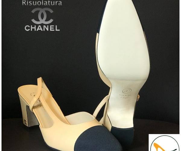 Chanel con modello suola SILK crema