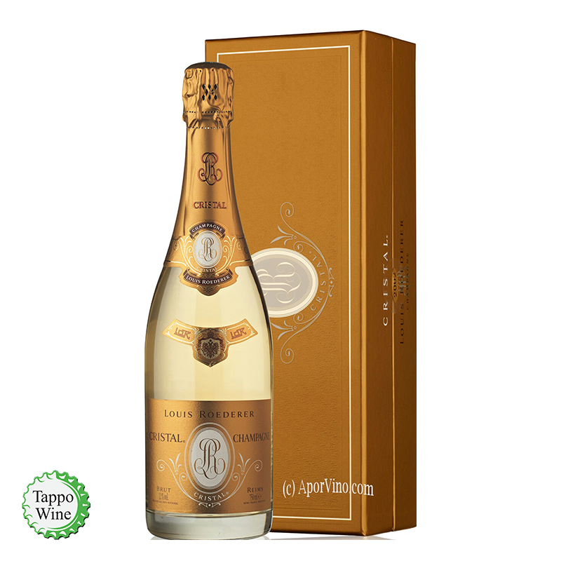 CHAMPAGNE CRISTAL LOUIS ROEDERER 09 ASTUCCIATO
