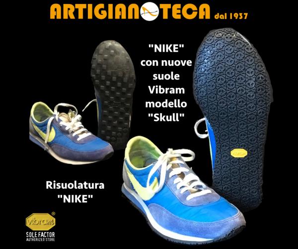 Sneaker NIKE con Vibram modello SKULL