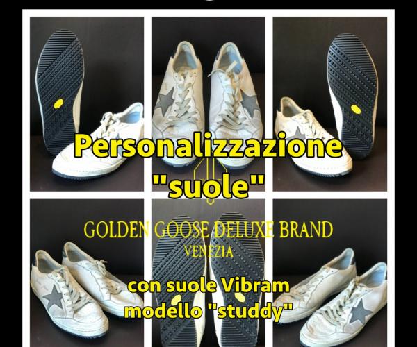 GGDB - Golden Goose - risuolatura con Vibram Studdy