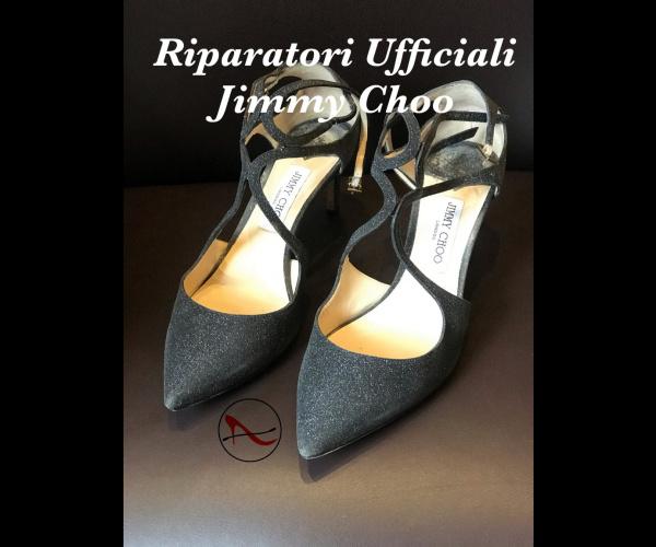 Jimmy Choo con modello suola SILK crema