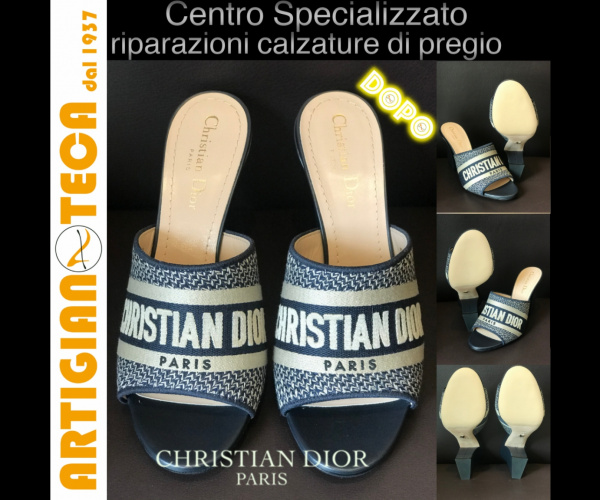 Christian Dior con suole modello SILK crema