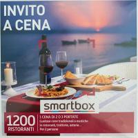 SmartBox 1 Cena di 2 o 3 portate per 2 persone.