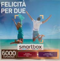 SmartBox Sfiziose degustazioni per 2p o Esperienze Relax & Fitness per 2p