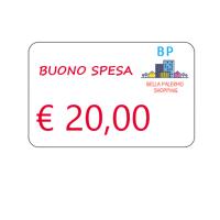 Buono spesa di € 20,00