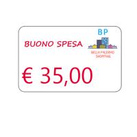 Buono spesa di € 35,00