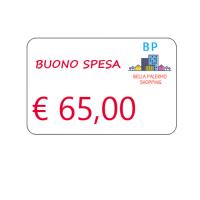 Buono spesa di € 65,00