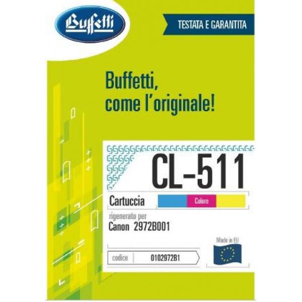 CANON CARTUCCIA INK JET - COMPATIBILE CL-511  - 3 colori
