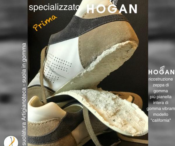 Risuolatura HOGAN sneaker con Vibram CALIFORNIA