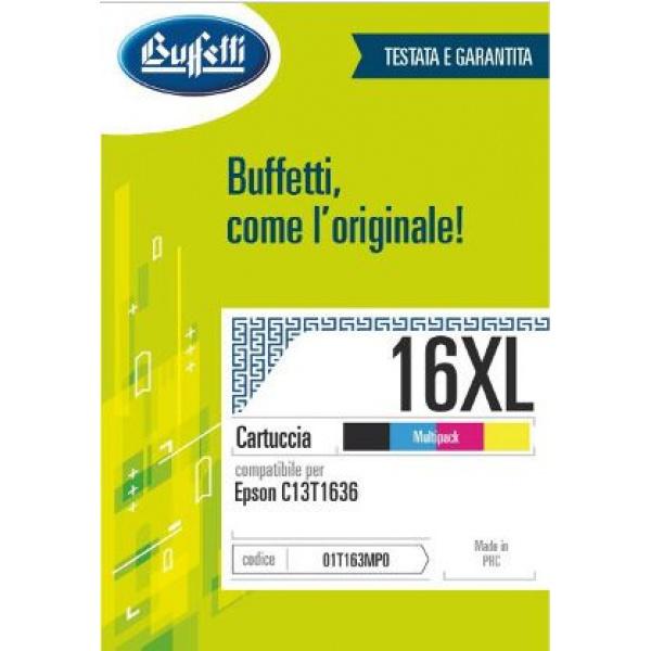 Epson Cartuccia ink jet - Compatibile 16XL - 4 colori