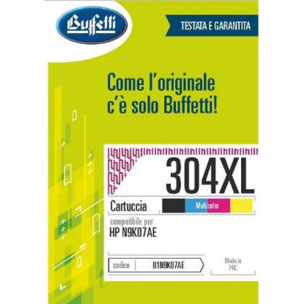 HP Cartuccia ink jet - Compatibile N.304XL - 3 colori