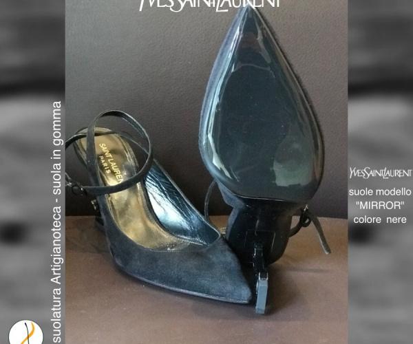 YSL Yves Saint Laurent con modello suola MIRROR NERE
