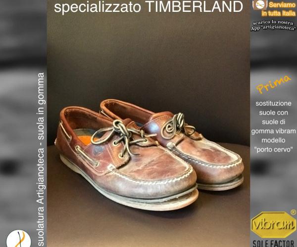 Risuolatura Timberland con Vibram PORTO CERVO