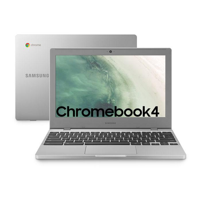 SAMSUNG CHROMEBOOK INCE / N4000 / 15.6 / RAM 4GB/ HD 64GB SSD / PLATIN 36 mesi noleggio lungo termine