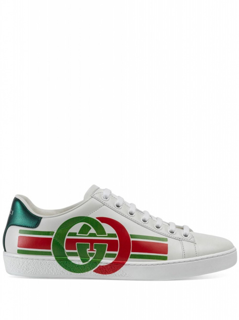 GUCCI SNEAKERS ACE CON STAMPA GG_1