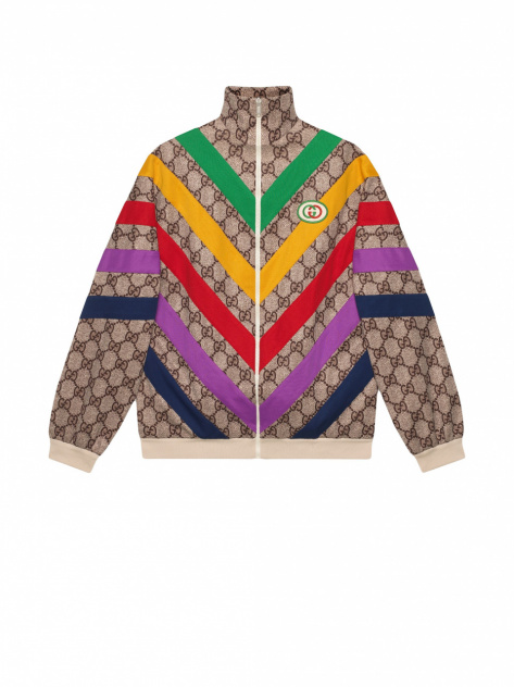 gucci GG Supreme print jacket_1