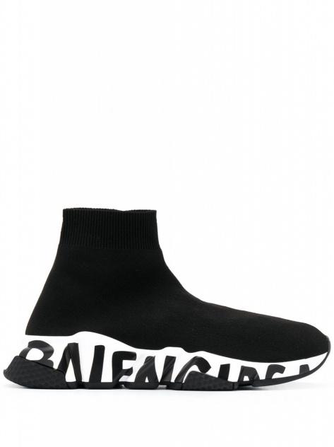 BALENCIAGA Speed Graffiti Sole sneakers_1