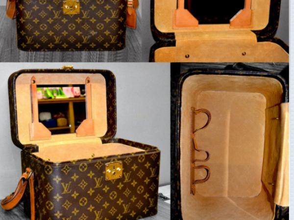 Louis Vuitton bauletto – rifacimento interni