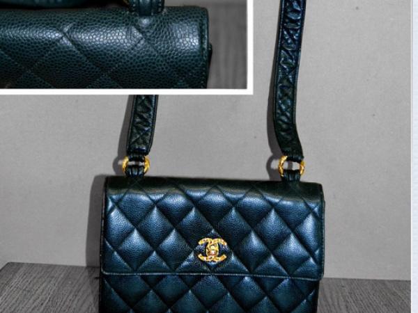 Riparazione tracolla borse Chanel