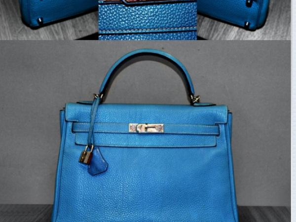 Ricolorazioni profili borsa Hermès