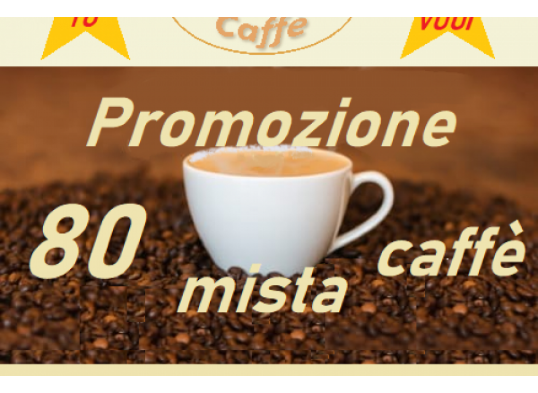 PROMO MISTA CAFFE' COMPATIBILI DOLCE GUSTO conf 80 CPS
