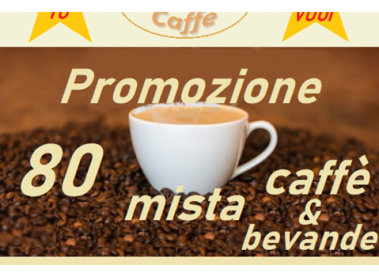 PROMO MISTA CAFFE' e BEVANDE COMPATIBILI DOLCE GUSTO