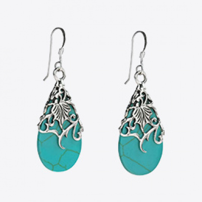 Floral Vine Ornate Earrings