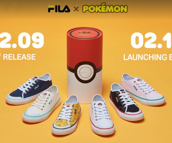 Fila ha prodotto le scarpe ufficiali dei Pokémon