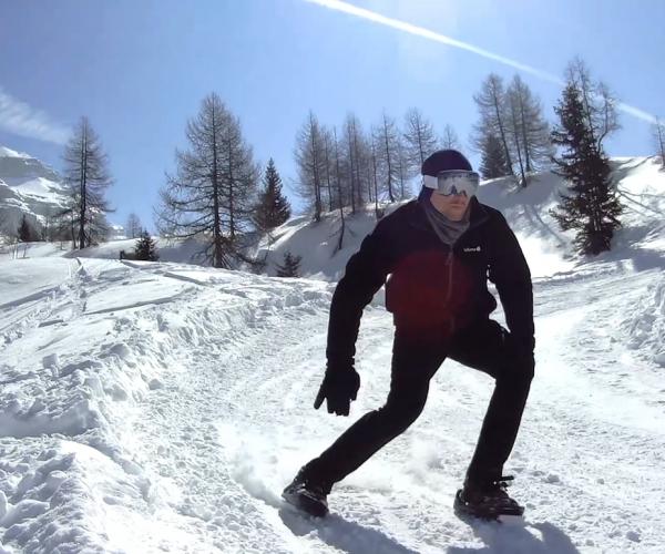 Snowfeet, l'accessorio che ti fa sciare senza sci