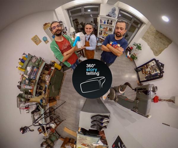 360° Storytelling, la startup che racconta il Made in Italy a tutto schermo