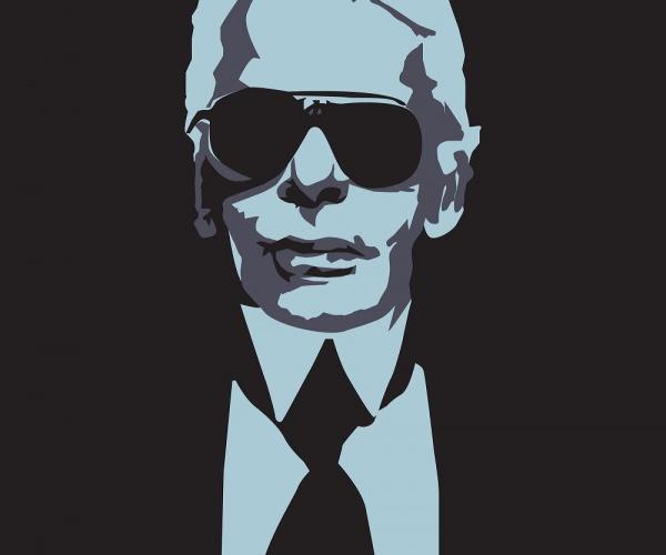 La sterminata collezione di oggetti tech di Karl Lagerfeld