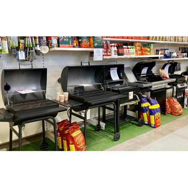 BARBECUE- In negozio vasto assortimento di modelli a carbone, a gas (cottura australiana e/o pietra lavica) e elettrici!