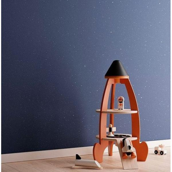 CANDIS.PAINTS adamantia è il prodotto ideale per la camera dei più piccoli, che potranno giocare sognando un universo di stelle…. Foto : adamantia+col.400
