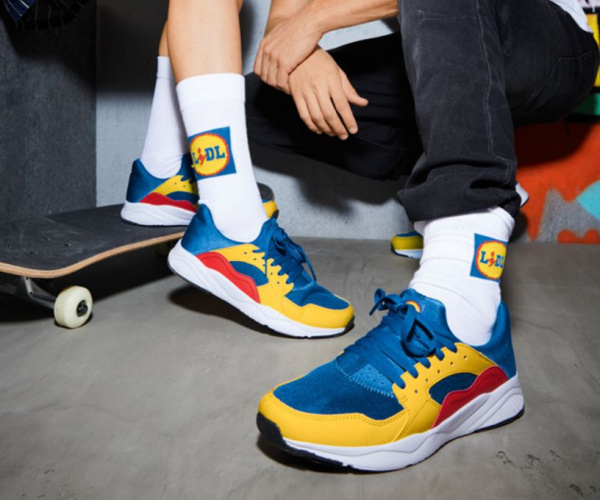 Le sneakers di Lidl da 12,99 euro rivedute online a centinaia di euro
