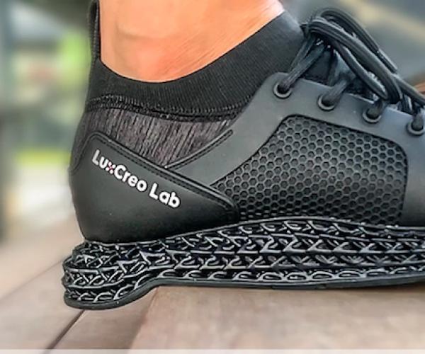 La prima scarpa stampata in 3d è waterproof e traspirante