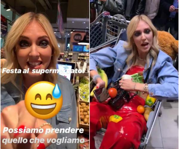 """Sul compleanno """"sprecone"""" di Fedez al supermercato"""