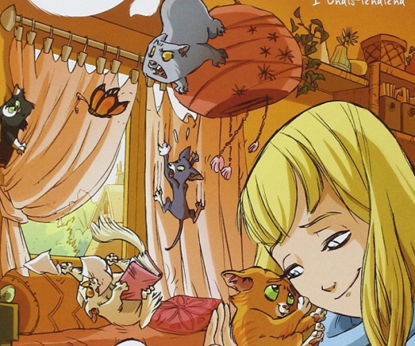 5 gatti dei fumetti